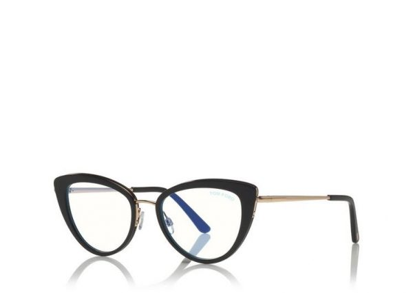 Tom Ford FT5580-B 001 eyeglasses on sale